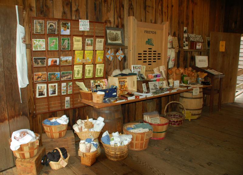 Granary gift shop.
