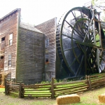 Bale Grist Mill in the fall.