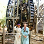 By the great water wheel!